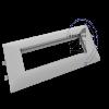 کادر و قاب 8 ماژول (4 خانه) ترانک البرز درب 85 ( 50*105 )